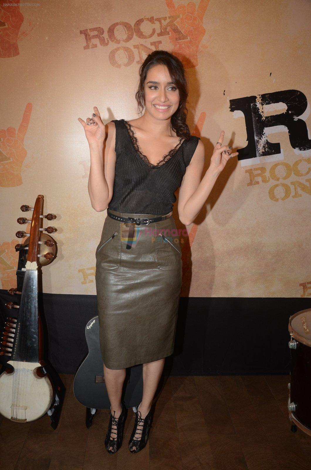 Shradhha Kapoor at Rock On 2 trailer launch on 2nd Sept 2016
