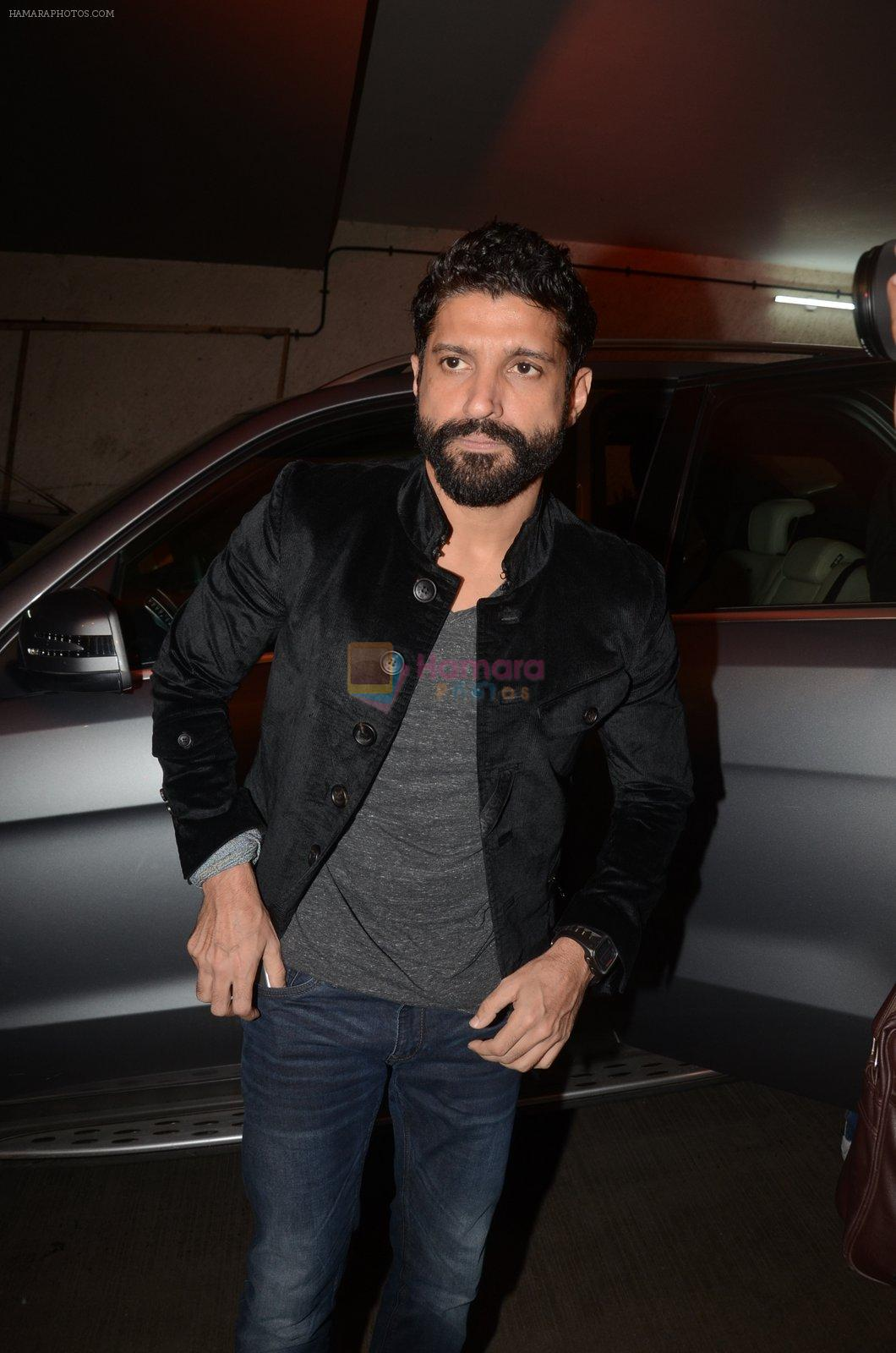 Farhan Akhtar at Rock On 2 trailer launch on 2nd Sept 2016