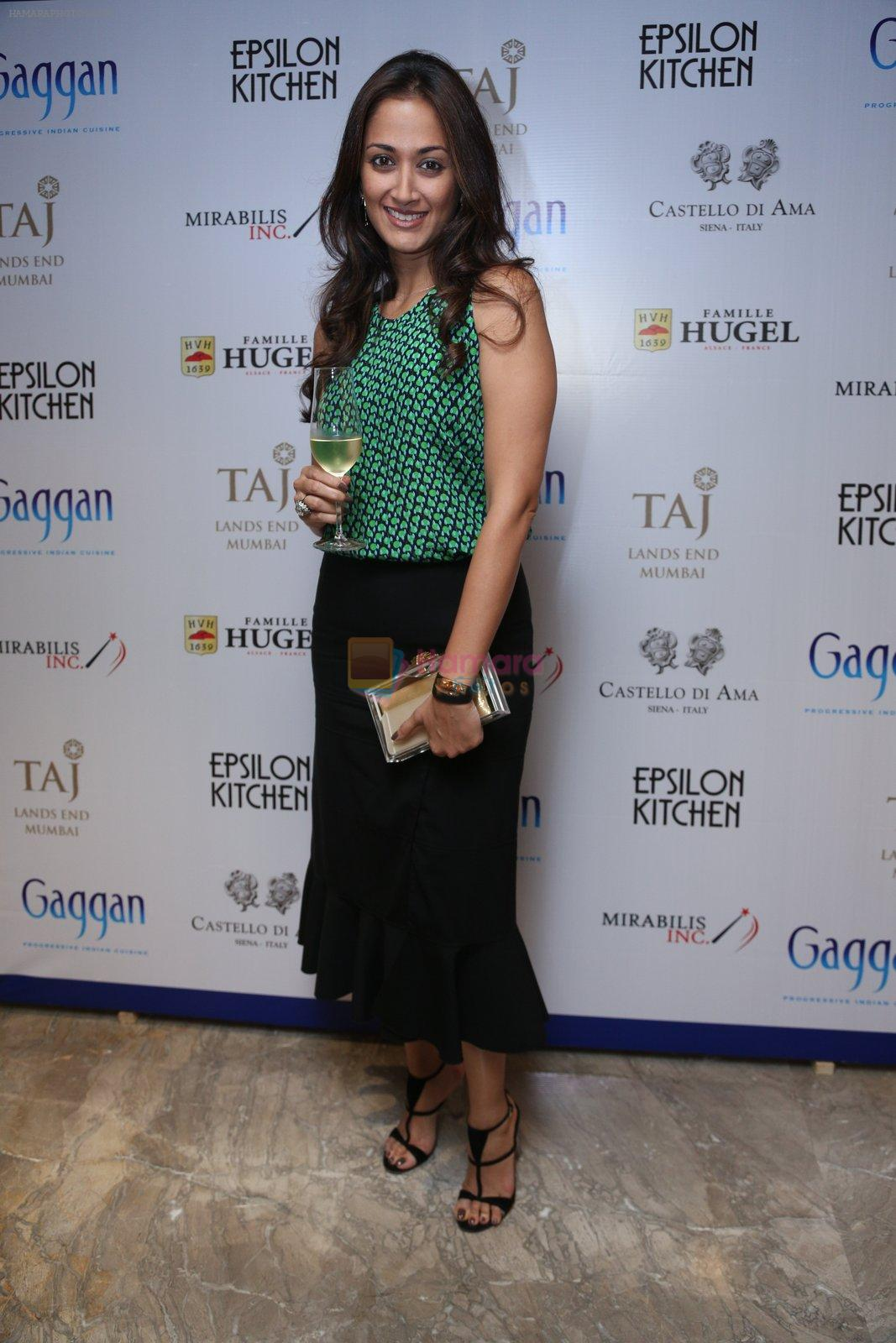 Gayatri Oberoi at Chef Gaggan's foodie event on 2nd Sept 2016