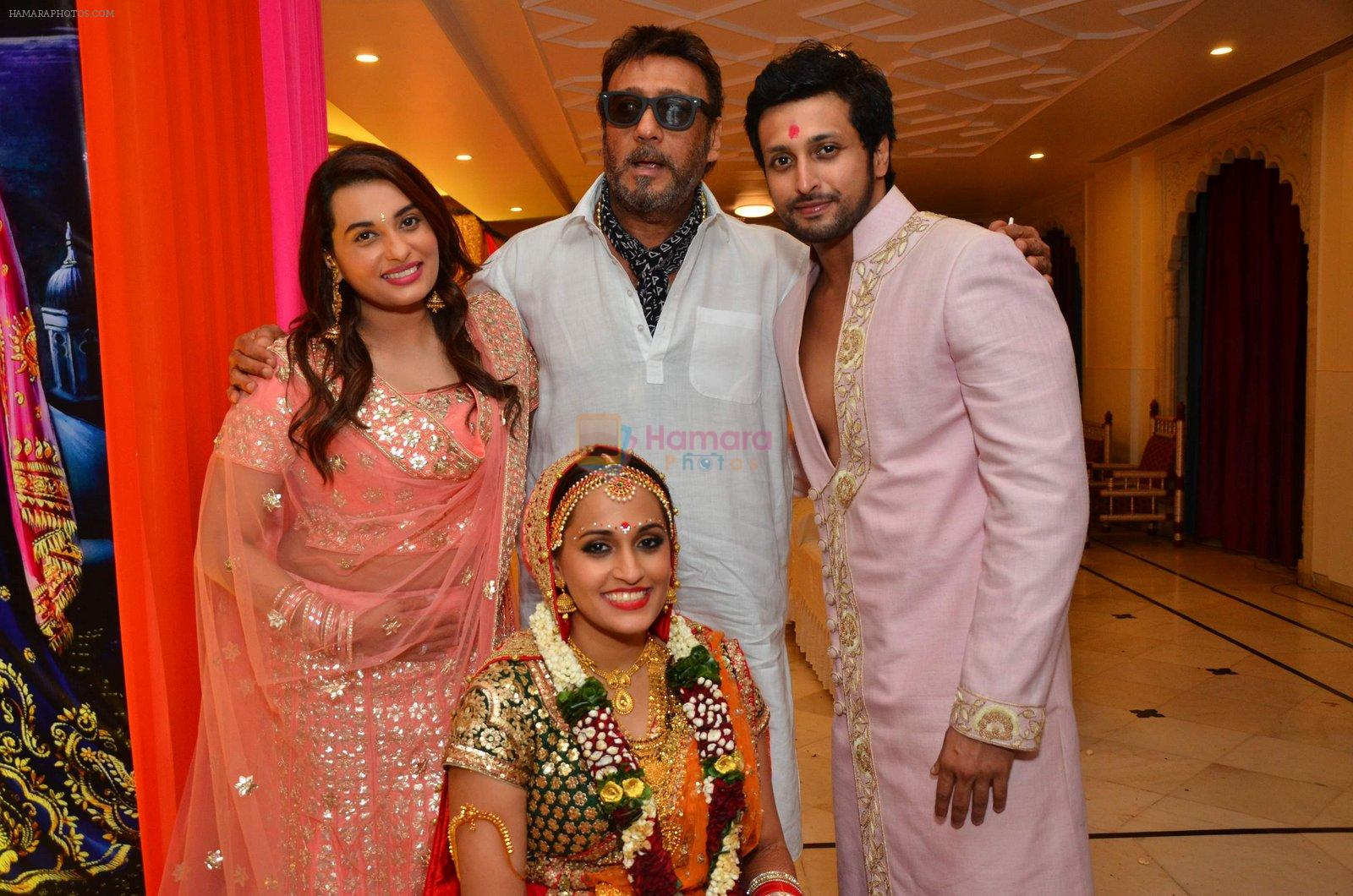Jackie Shroff at singer Shweta Pandit's wedding with Italian boy friend Ivano Fucci on 2nd Sept 2016