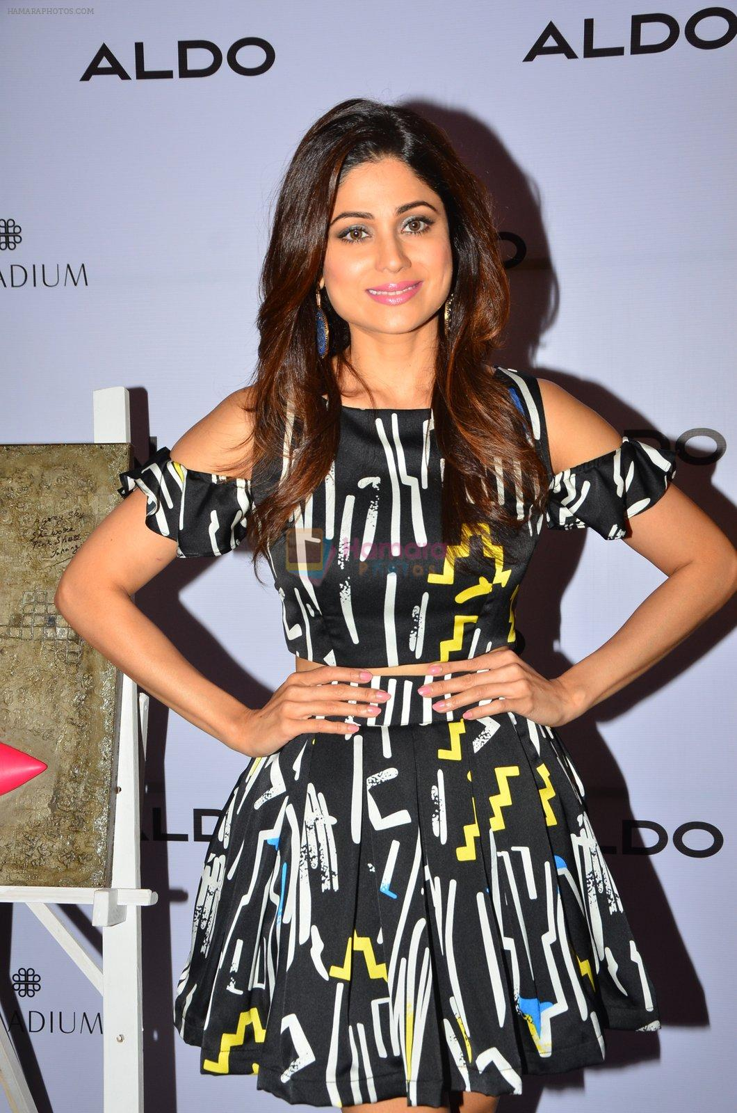 Shamita Shetty at Aldo launch in Mumbai on 2nd Sept 2016
