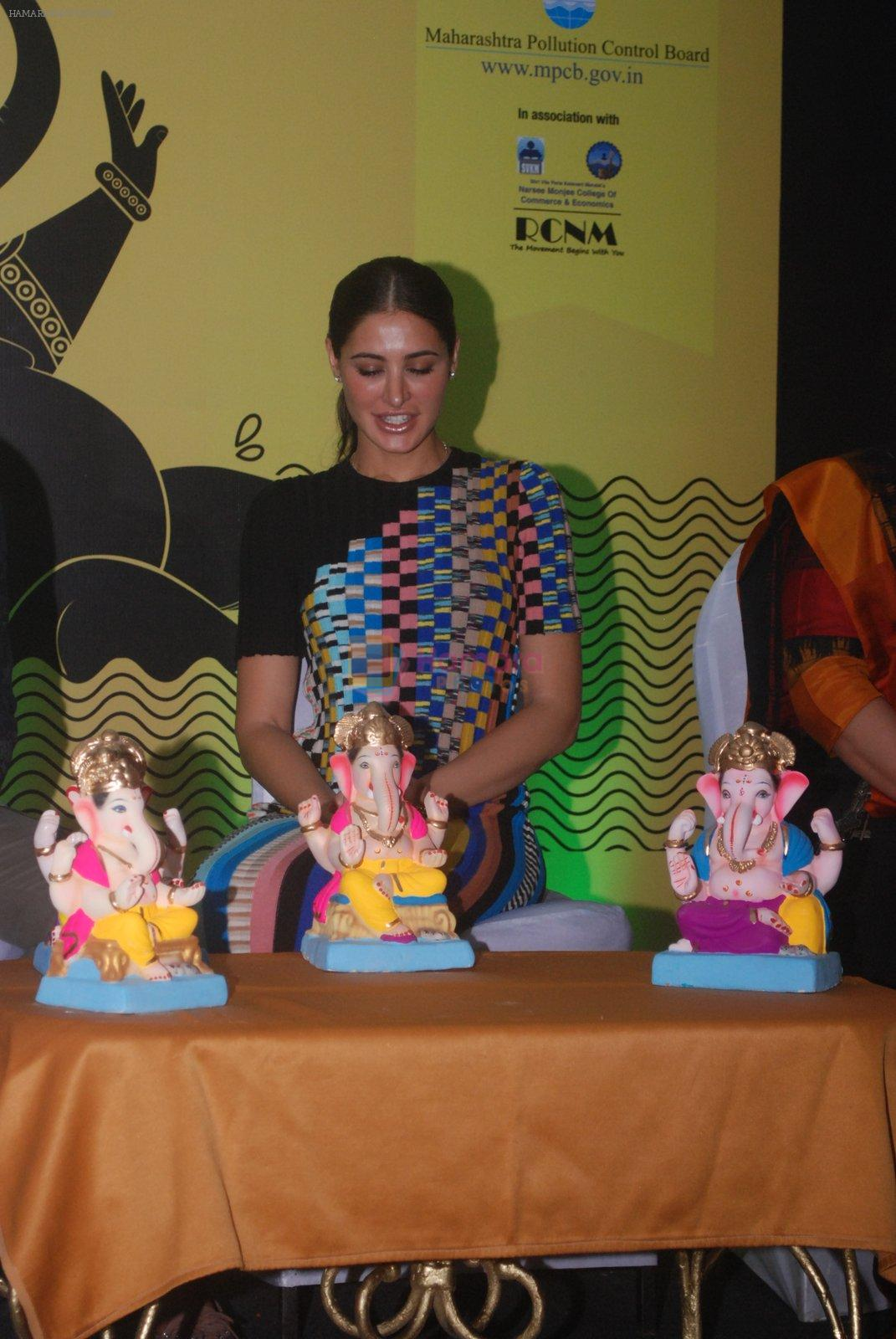 Nargis Fakhri promote Banjo at NM College for Times Ganesha on 2nd Sept 2016