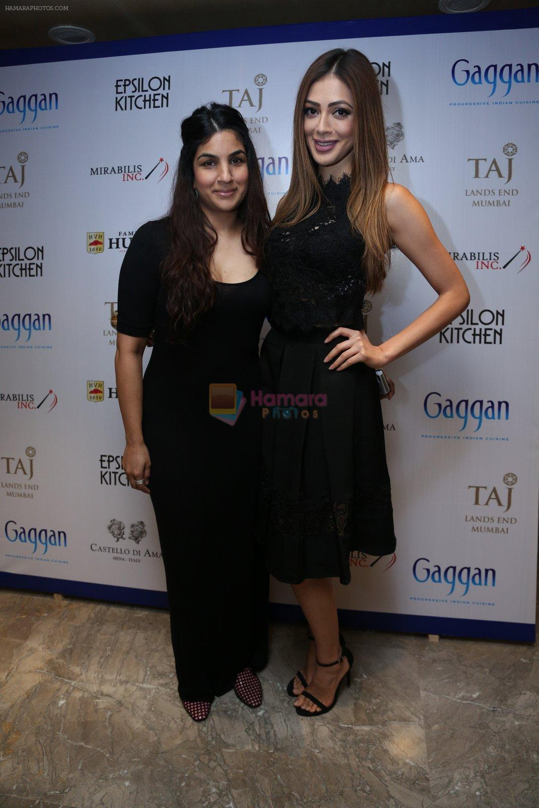 at Chef Gaggan's foodie event on 2nd Sept 2016