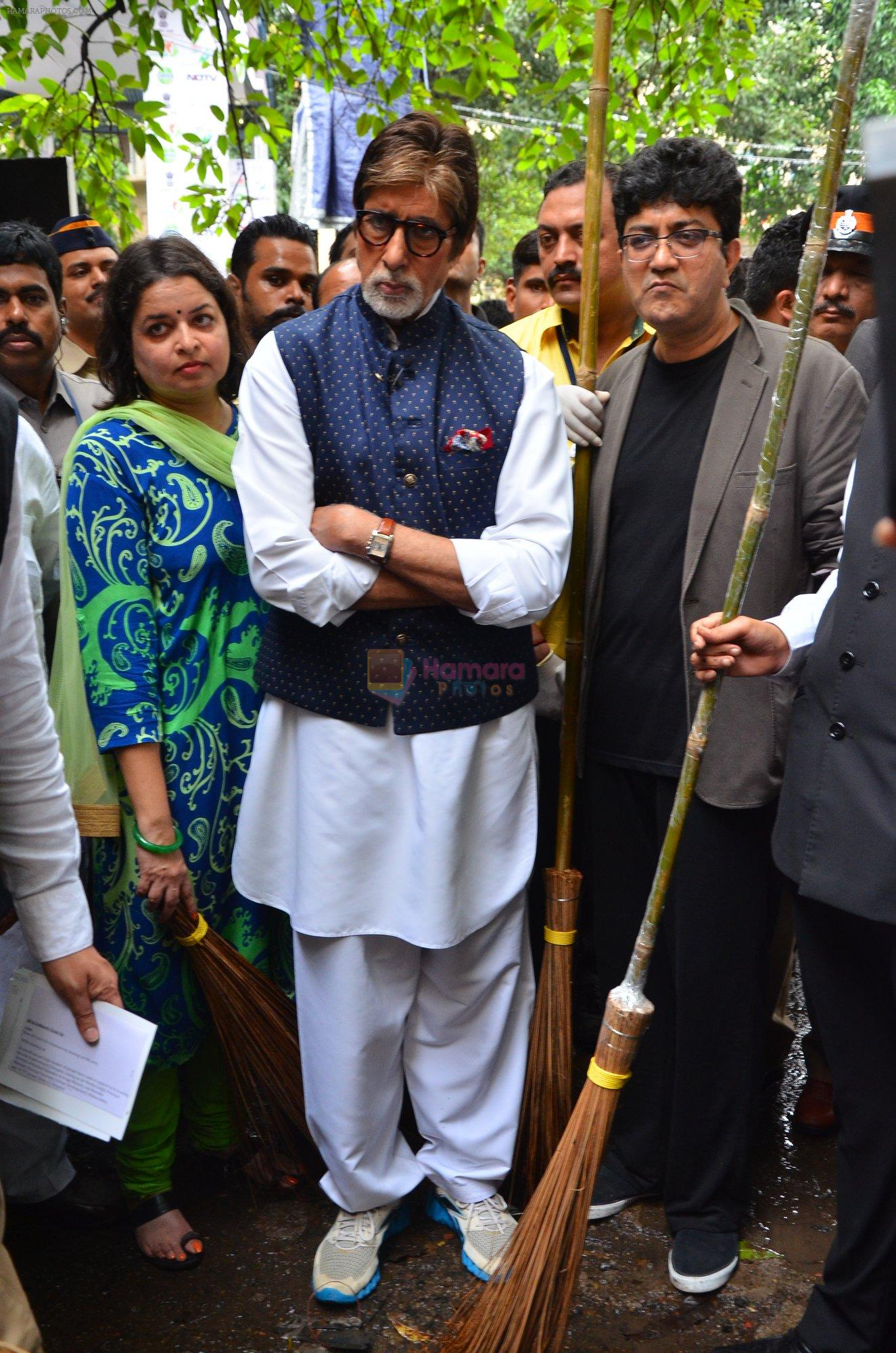 Amitabh Bachchan at NDTV swatch bharat abhiyan in Mumbai on 3rd Sept 2016