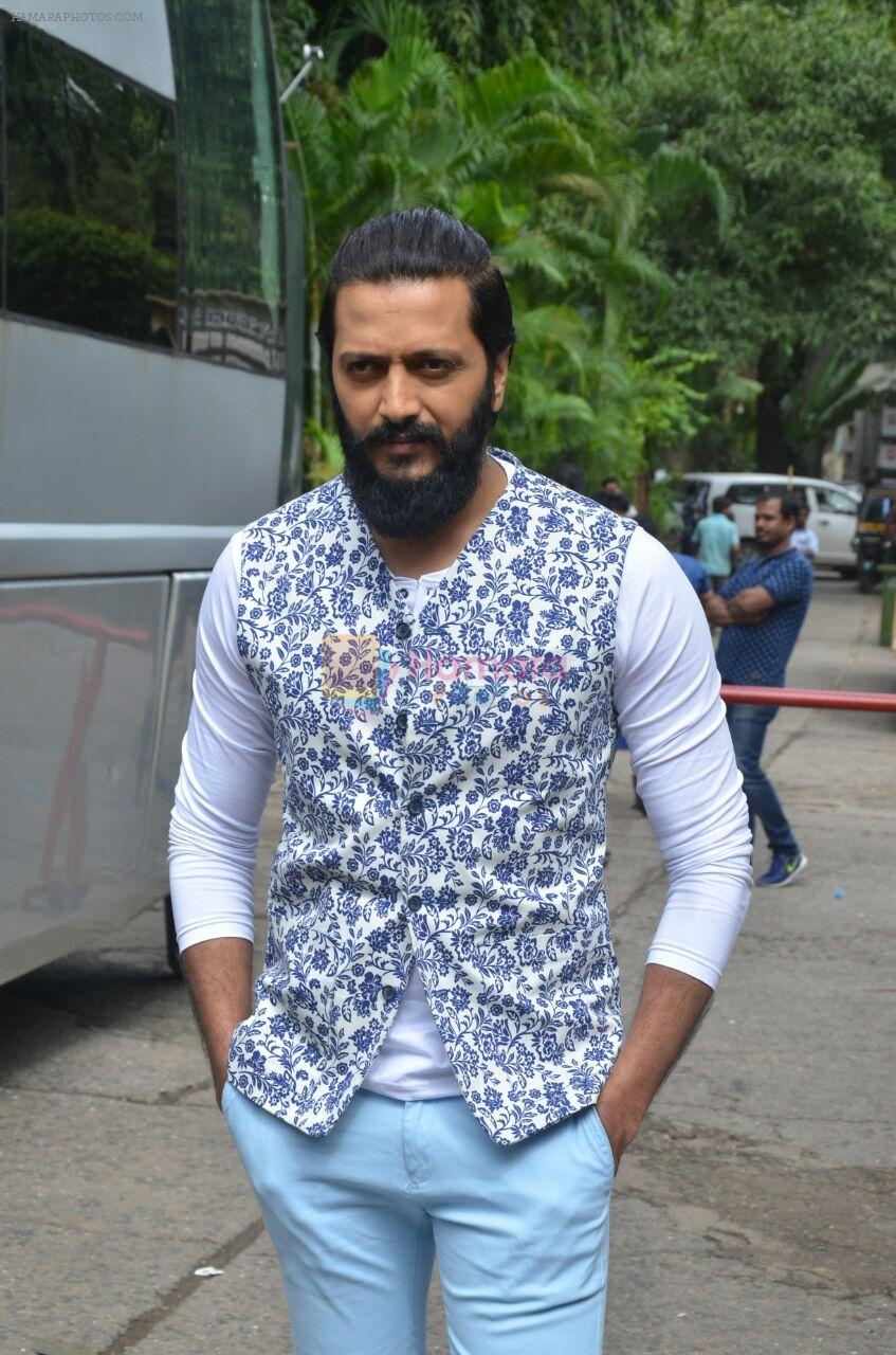 Riteish Deshmukh promote Banjo on the sets of voice of india kids on 2nd Sept 2016