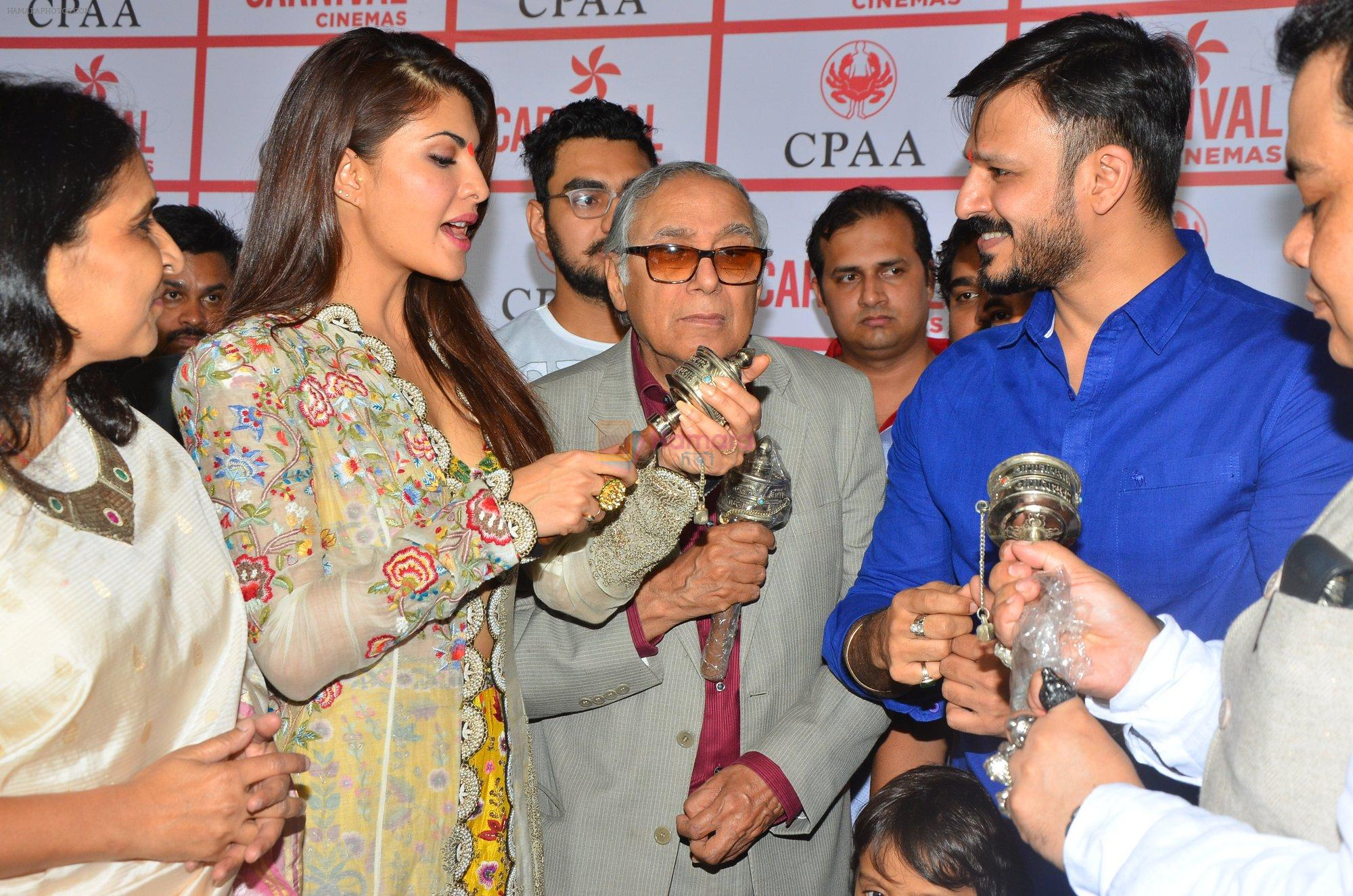 Jacqueline Fernandez, Vivek Oberoi at CPAA Event on 3rd Sept 2016