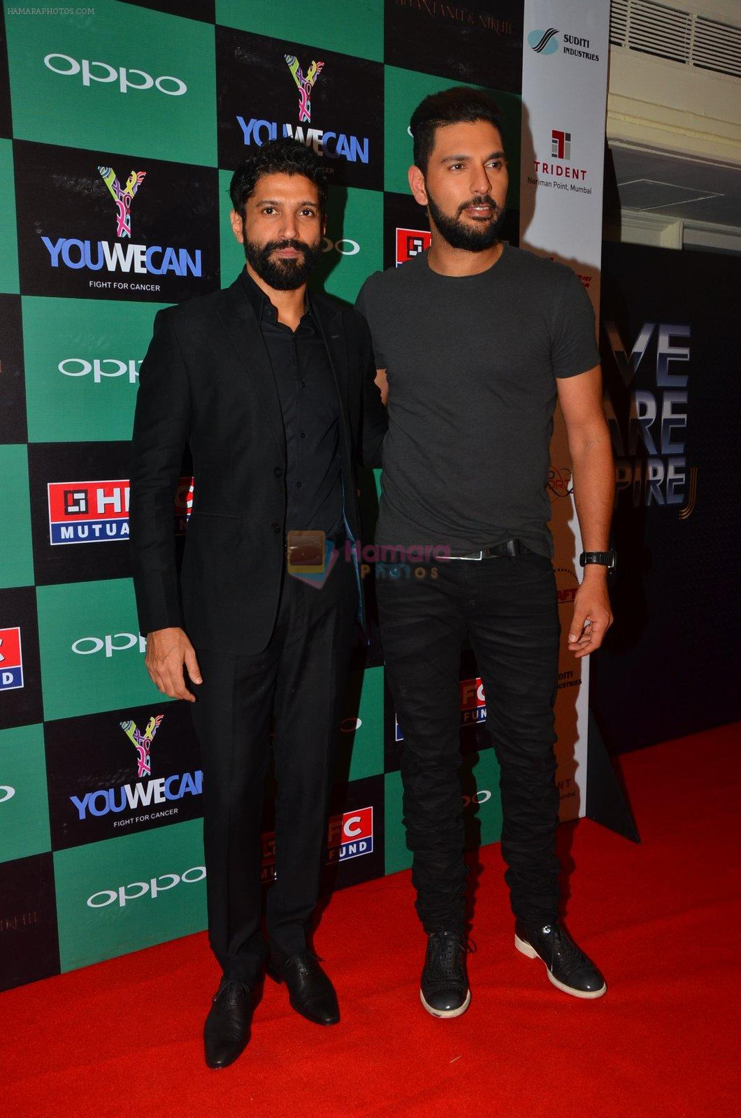 Farhan Akhtar, Yuvraj Singh at You We Can Label launch with Shantanu Nikhil collection on 3rd Sept 2016