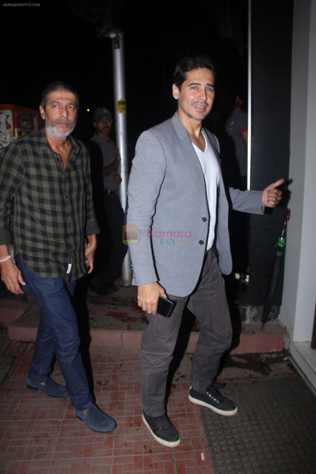 Dino Morea snapped at Baba Dewan's bash on 3rd Sept 2016