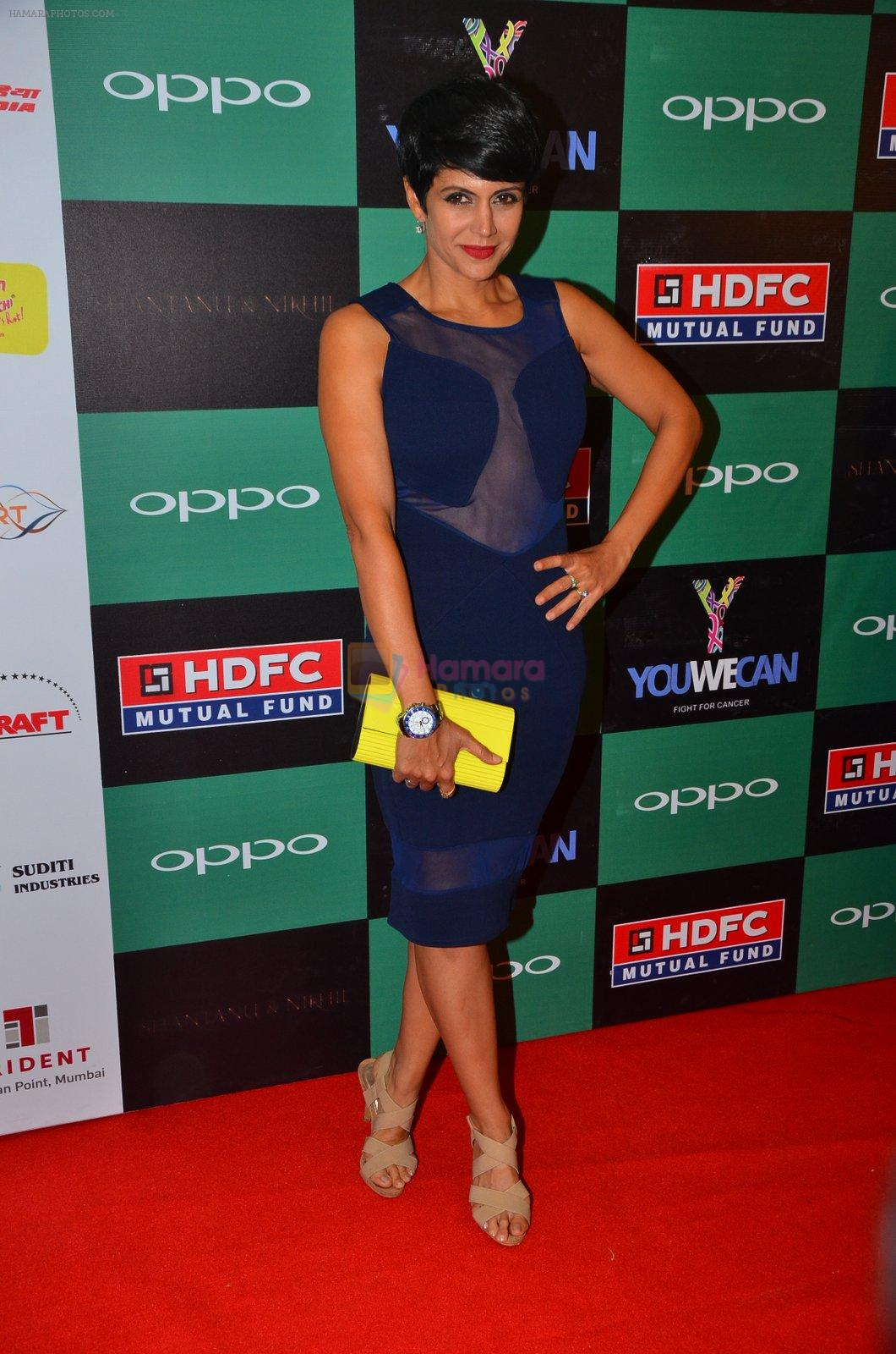 Mandira Bedi at You We Can Label launch with Shantanu Nikhil collection on 3rd Sept 2016