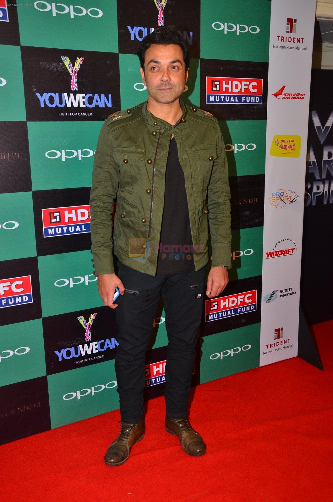 Bobby Deol at You We Can Label launch with Shantanu Nikhil collection on 3rd Sept 2016