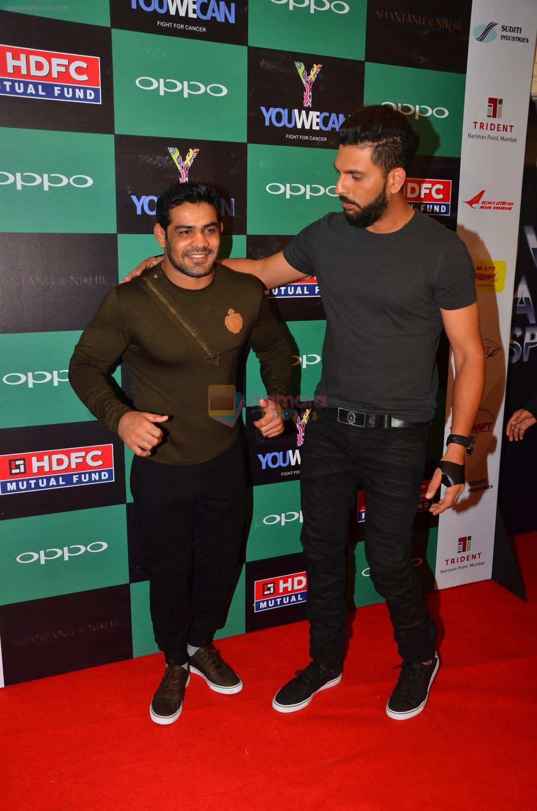 Sushil Kumar at You We Can Label launch with Shantanu Nikhil collection on 3rd Sept 2016