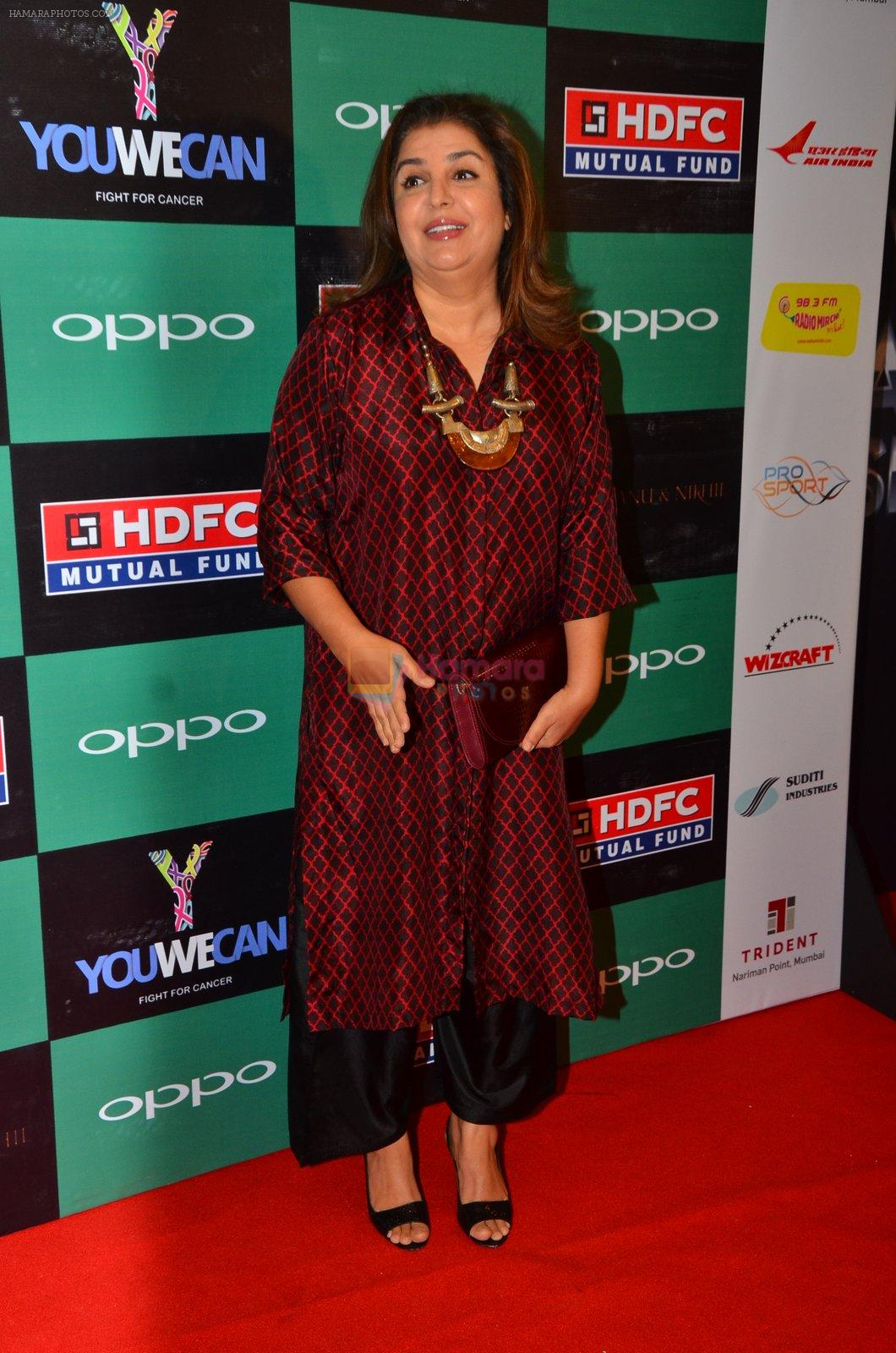 Farah Khan at You We Can Label launch with Shantanu Nikhil collection on 3rd Sept 2016