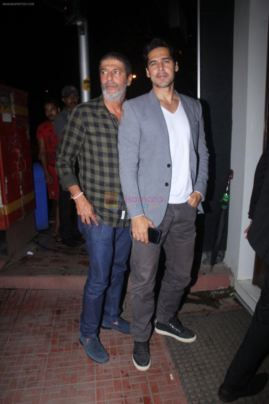Chunky Pandey snapped at Baba Dewan's bash on 3rd Sept 2016
