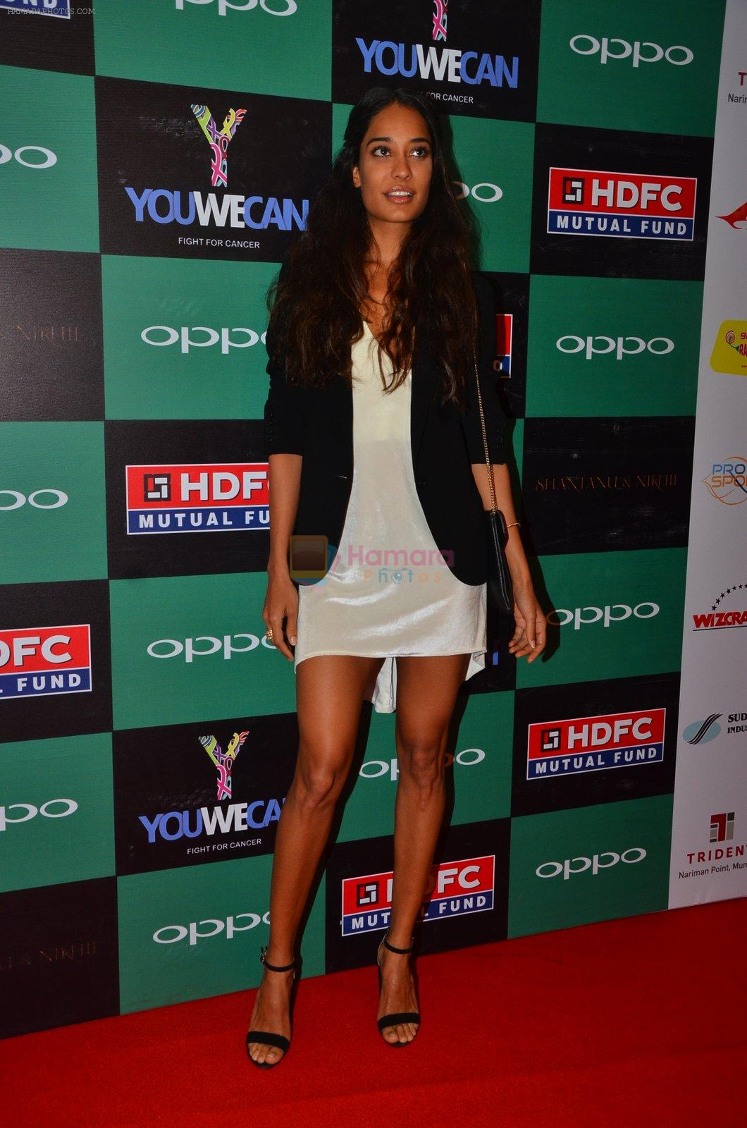 Lisa Haydon at You We Can Label launch with Shantanu Nikhil collection on 3rd Sept 2016