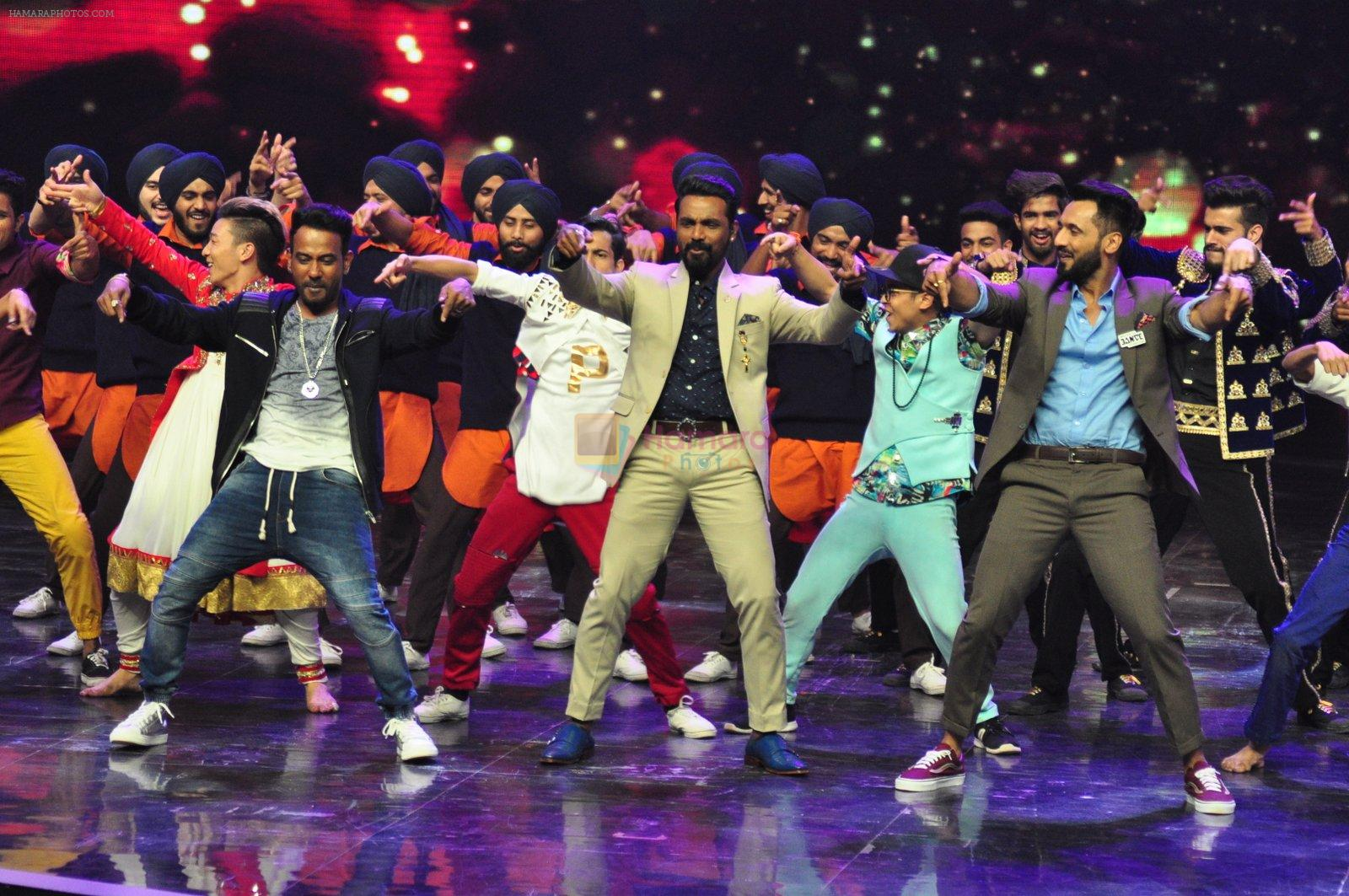 Remo D Souza on the sets of Star Plus's Dance Plus on 4th Sept 2016