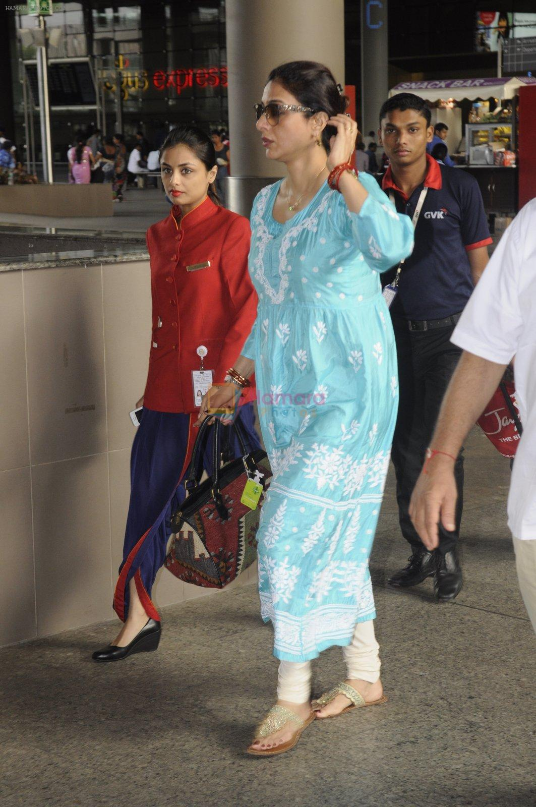 Tabu snapped at airport on 4th Sept 2016