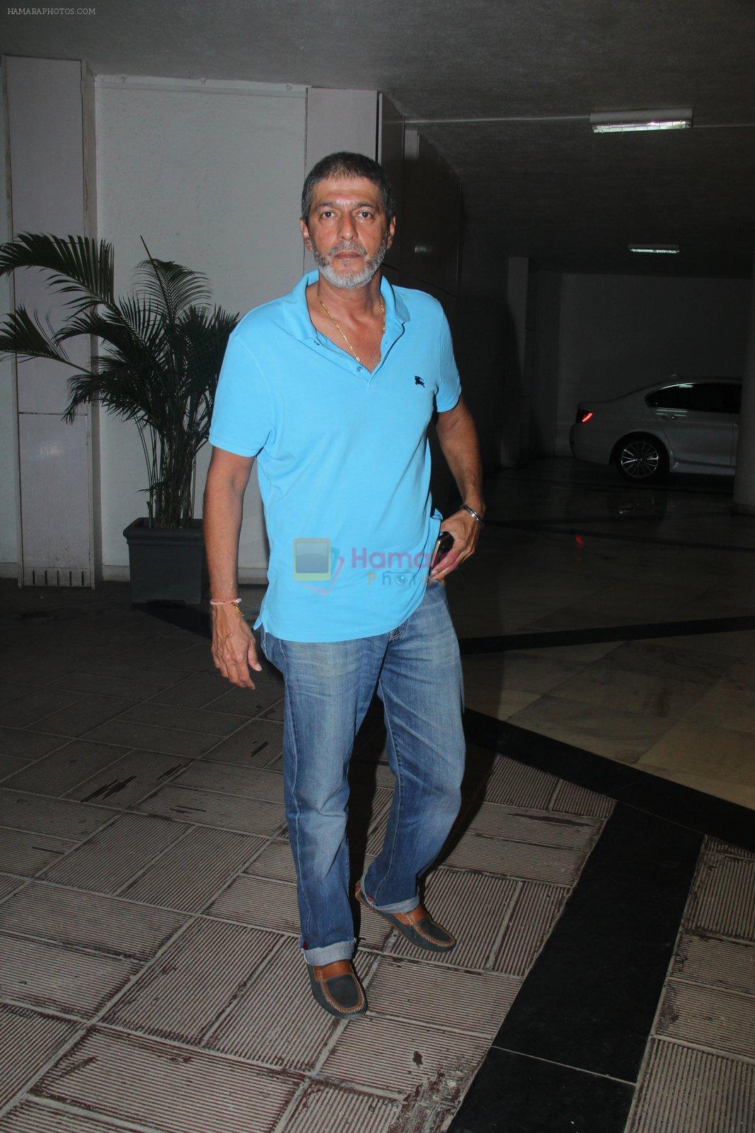 Chunky Pandey at Manish Malhotra's Ganpati Visarjan on 6th Sept 2016