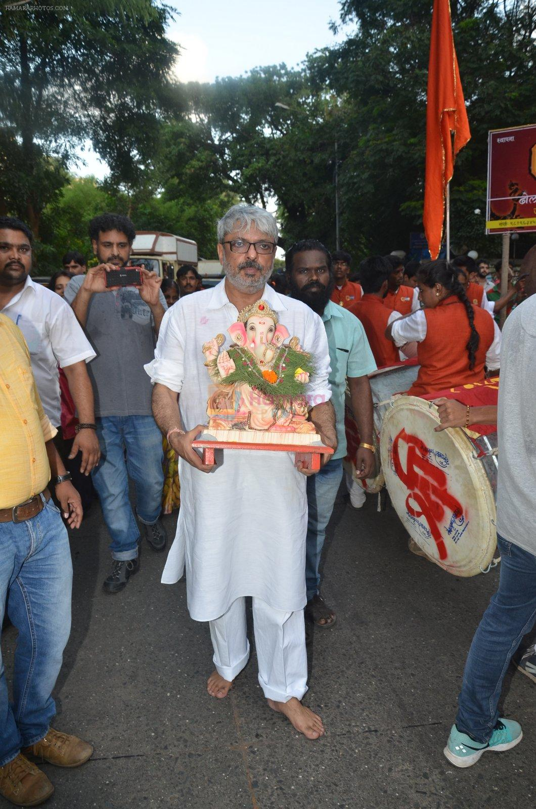 Sanjay Leela Bhansali's Ganpati Visarjan on 6th Sept 2016