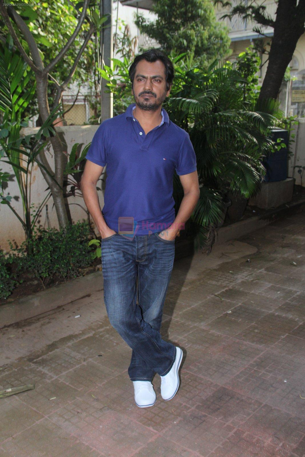 Nawazuddin Siddiqui at Freaky Ali promotions in Mumbai on 6th Sept 2016
