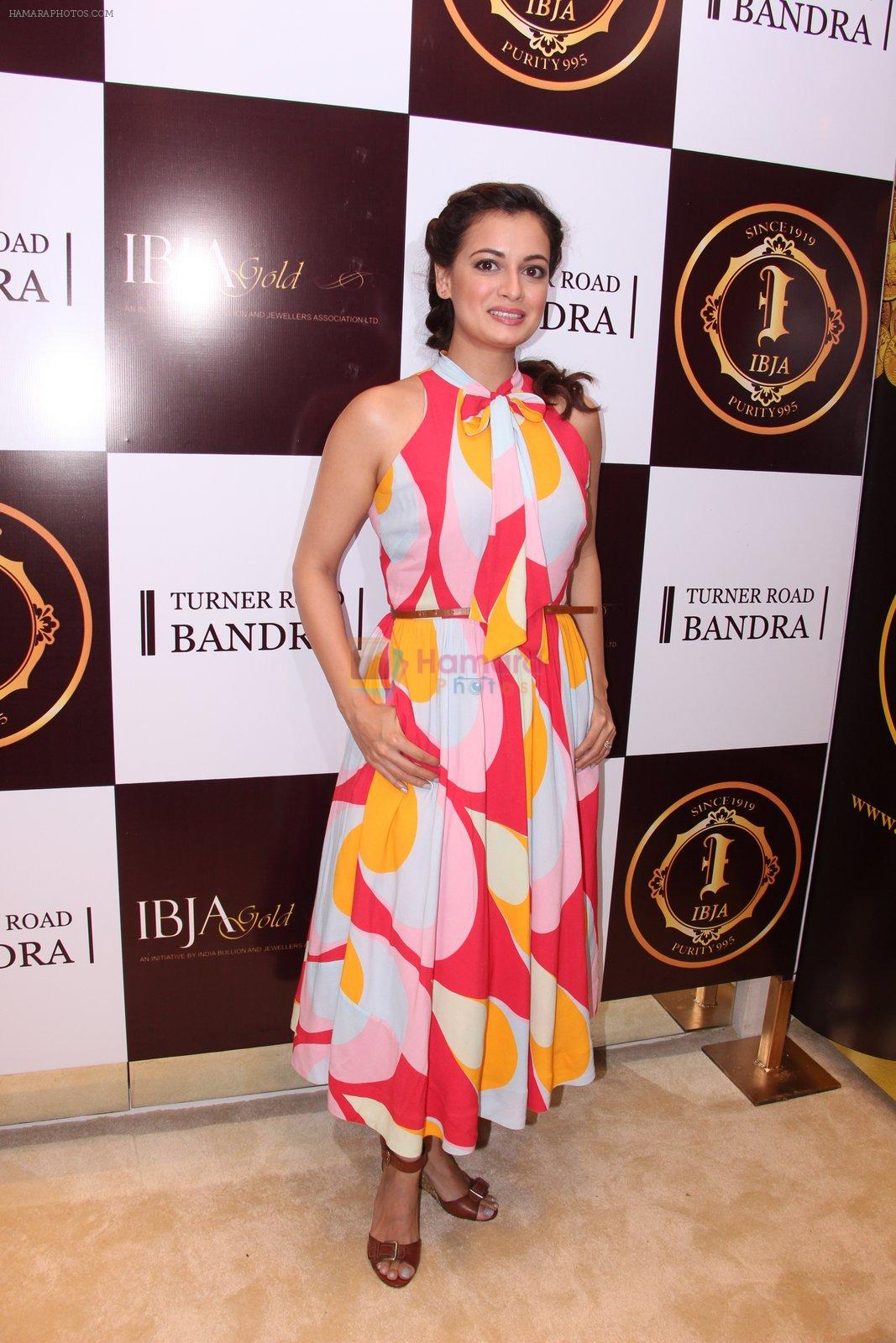 Dia Mirza during the launch of India's first customized gold coin store IBJA Gold, in Mumbai on 7th Sept 2016