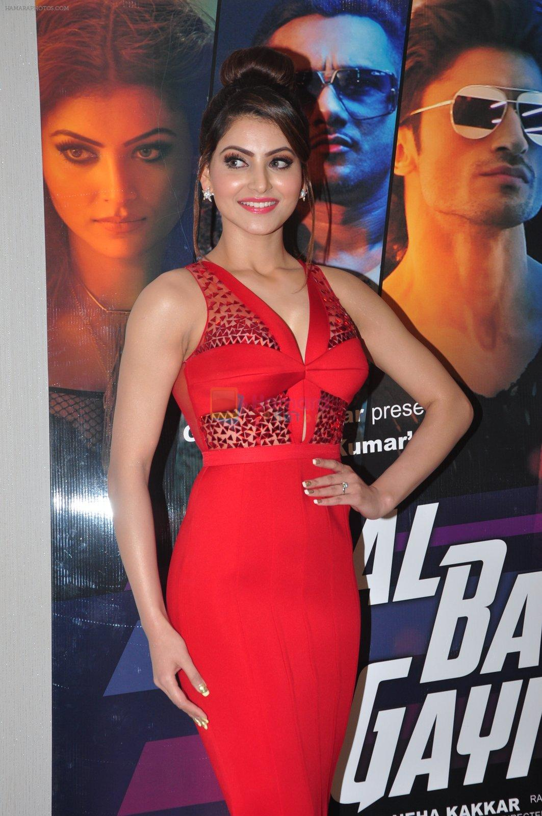 Urvashi Rautela during the launch of song Gal Ban Gayi in Mumbai on 7th Sept 2016