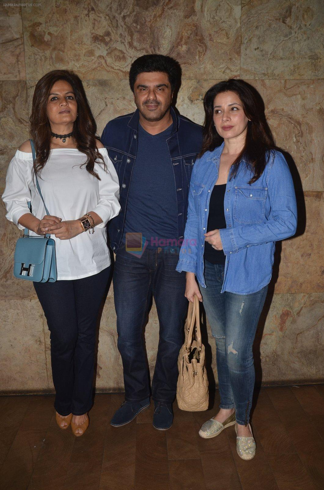 Neelam Kothari, Sameer Soni at Freaky Ali screening on 7th Sept 2016