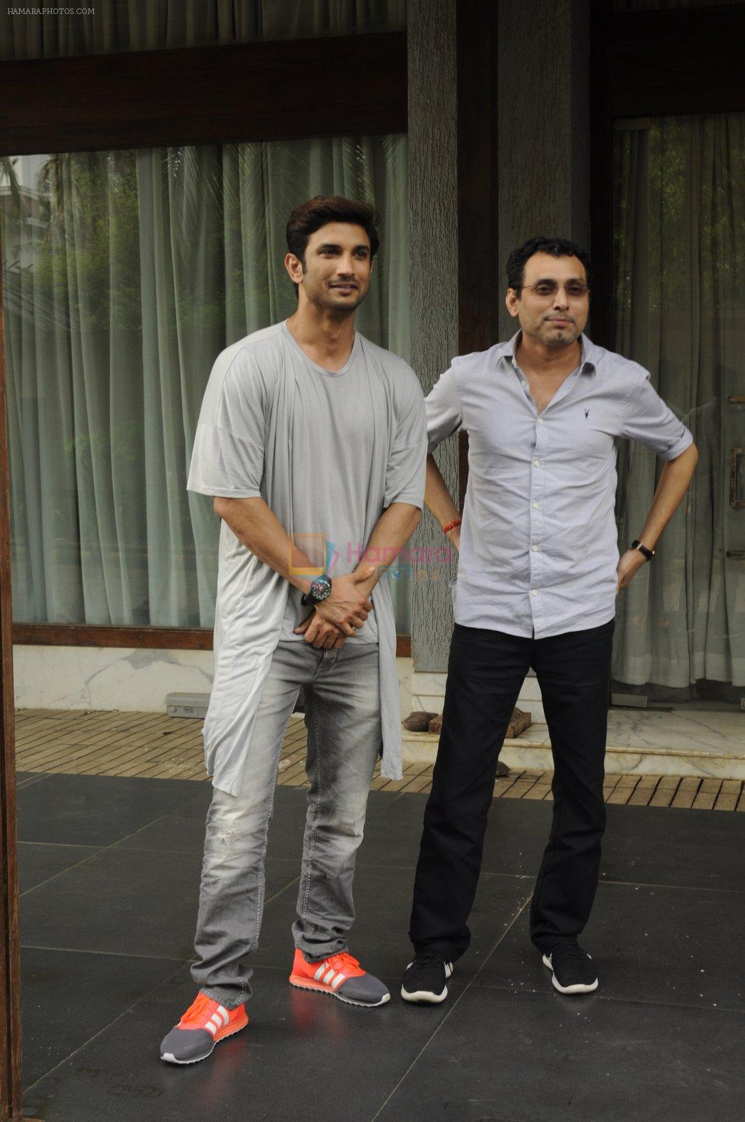 Sushant Singh Rajput snapped on 8th Sept 2016