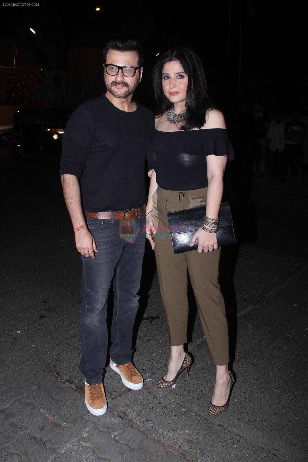 Sanjay Khan at Raj Kundra's birthday in The Korner House on 8th Sept 2016