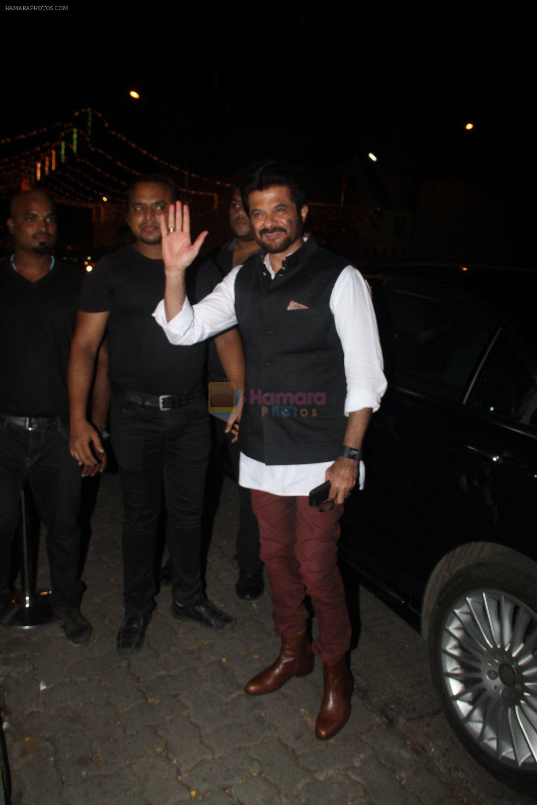 Anil Kapoor at Raj Kundra's birthday in The Korner House on 8th Sept 2016