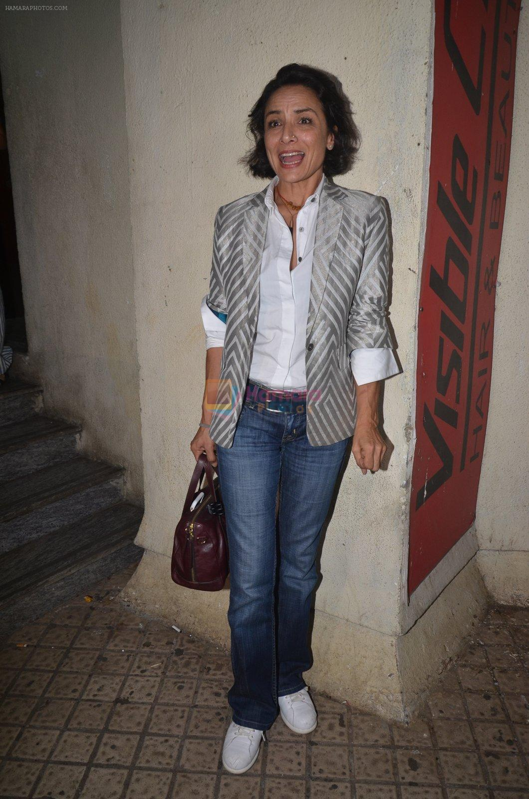 Adhuna Akhtar at Baar Baar Dekho Screening on 8th Sept 2016