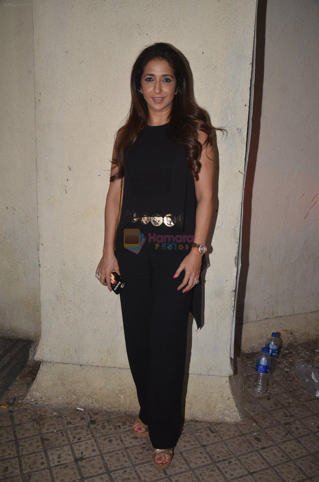 Krishika Lulla at Baar Baar Dekho Screening on 8th Sept 2016