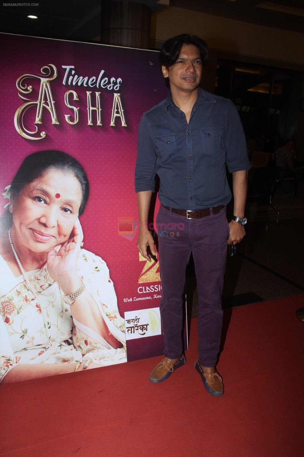 Shaan during the musical concert Timless Asha organised by Zee Classsic on occasion of Bollywood singer Asha Bhosle 83rd birthday in Mumbai, India on September 8, 2016