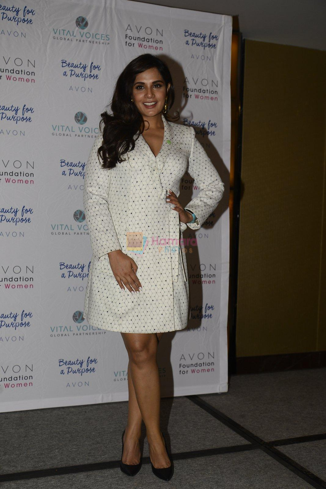 Richa Chadda at Avon foundation discussion on 9th Sept 2016