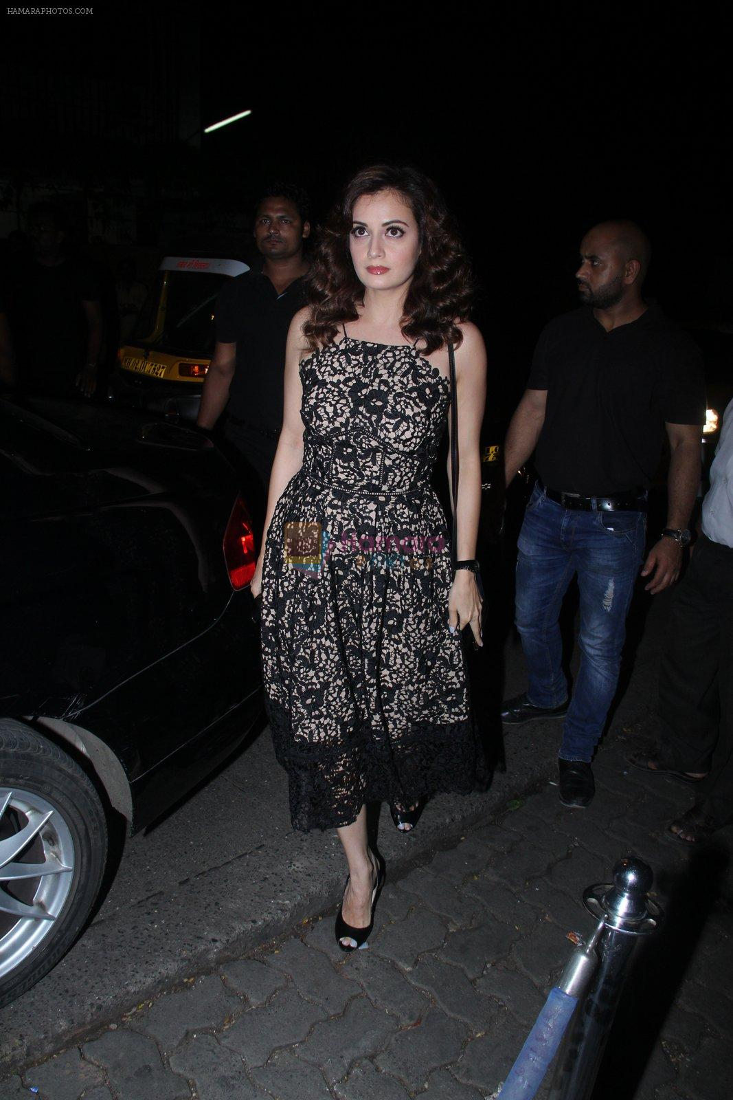 Dia Mirza at Raj Kundra's birthday in The Korner House on 8th Sept 2016