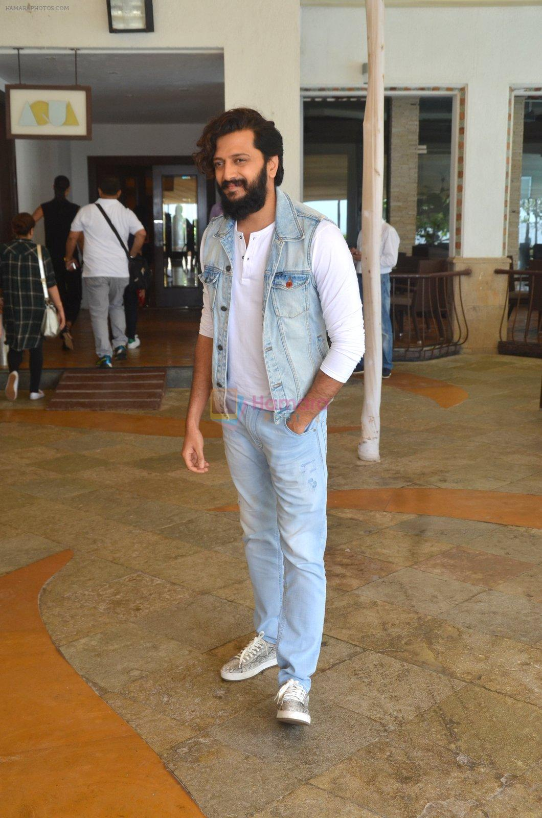 Riteish Deshmukh snapped for Banjo promotions in Mumbai on 8th Sept 2016