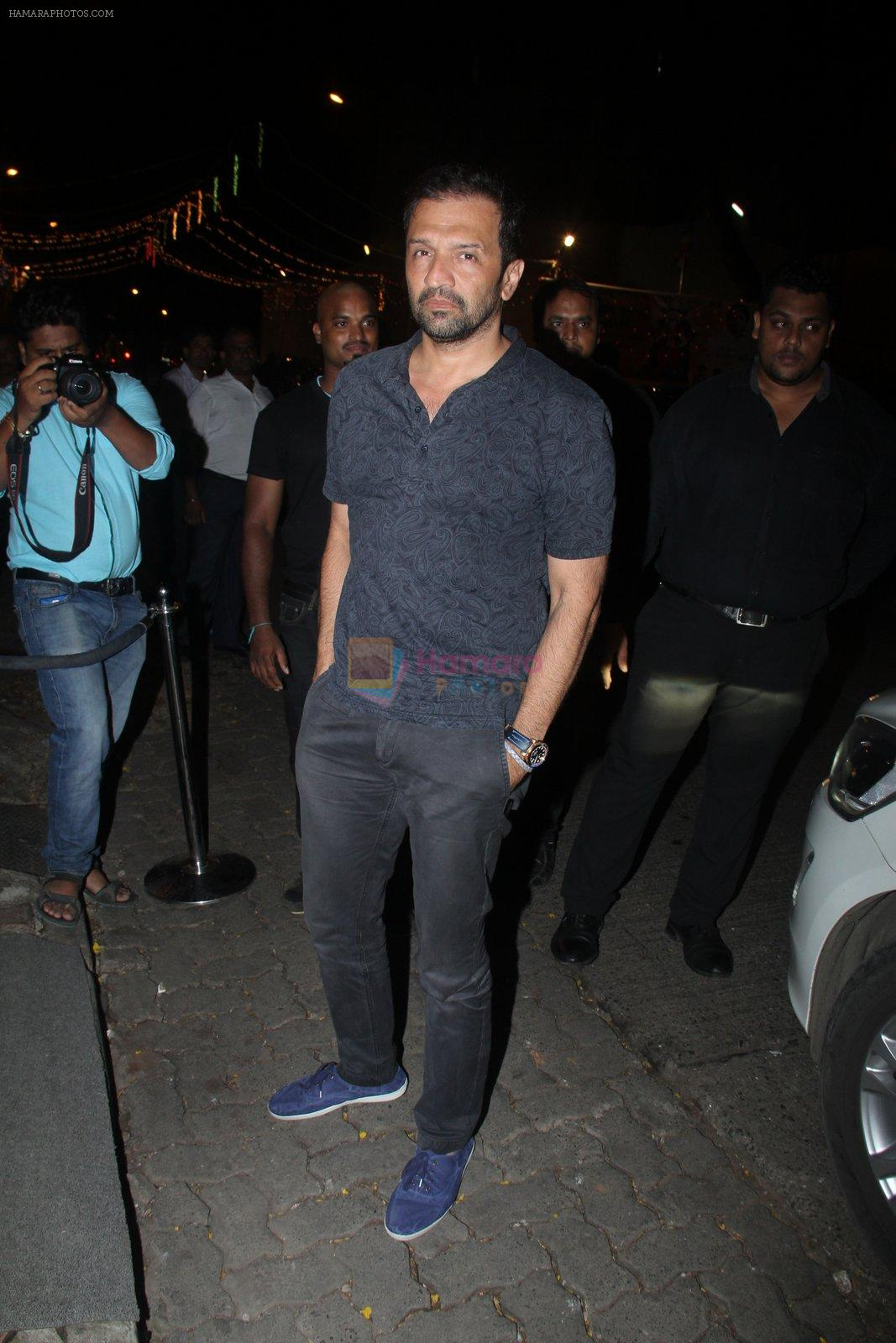 Atul Kasbekar at Raj Kundra's birthday in The Korner House on 8th Sept 2016