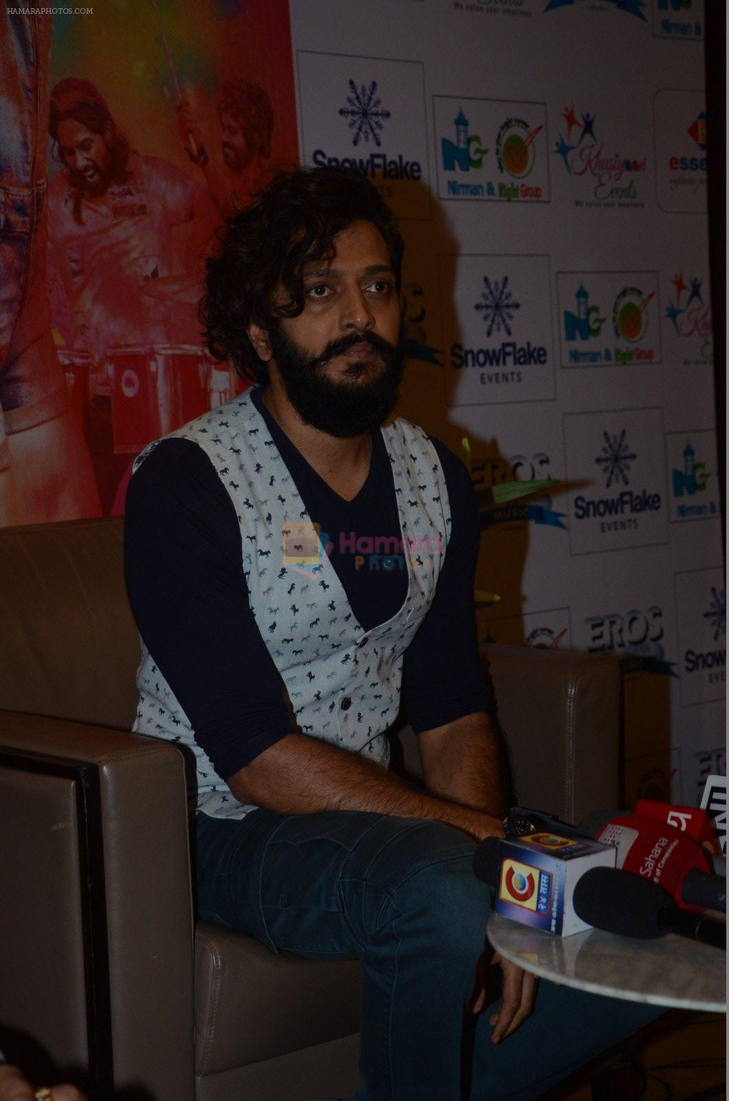 Riteish Deshmukh at Banjo press meet in Pune on 9th Sept 2016