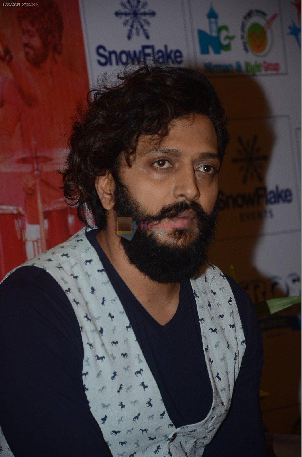 Riteish Deshmukh at Banjo press meet in Pune on 9th Sept 2016