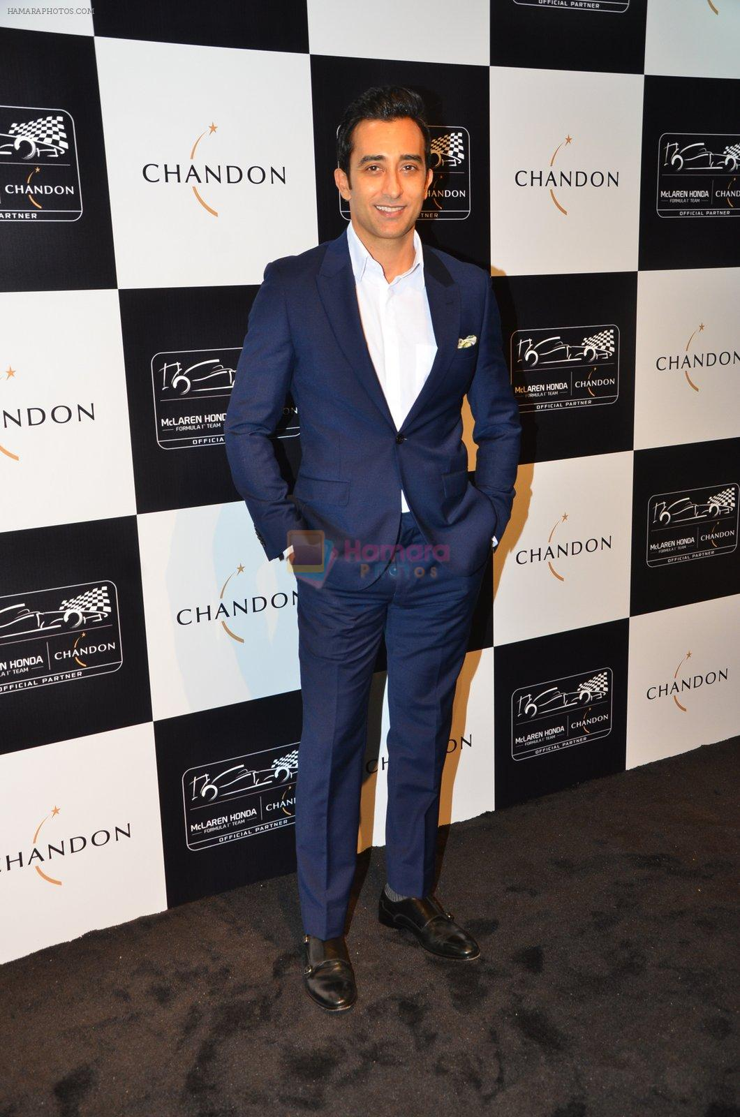 Rahul Khanna at the unveiling Chandon X McLaren Honda installation in Mumbai on 9th Sept 2016