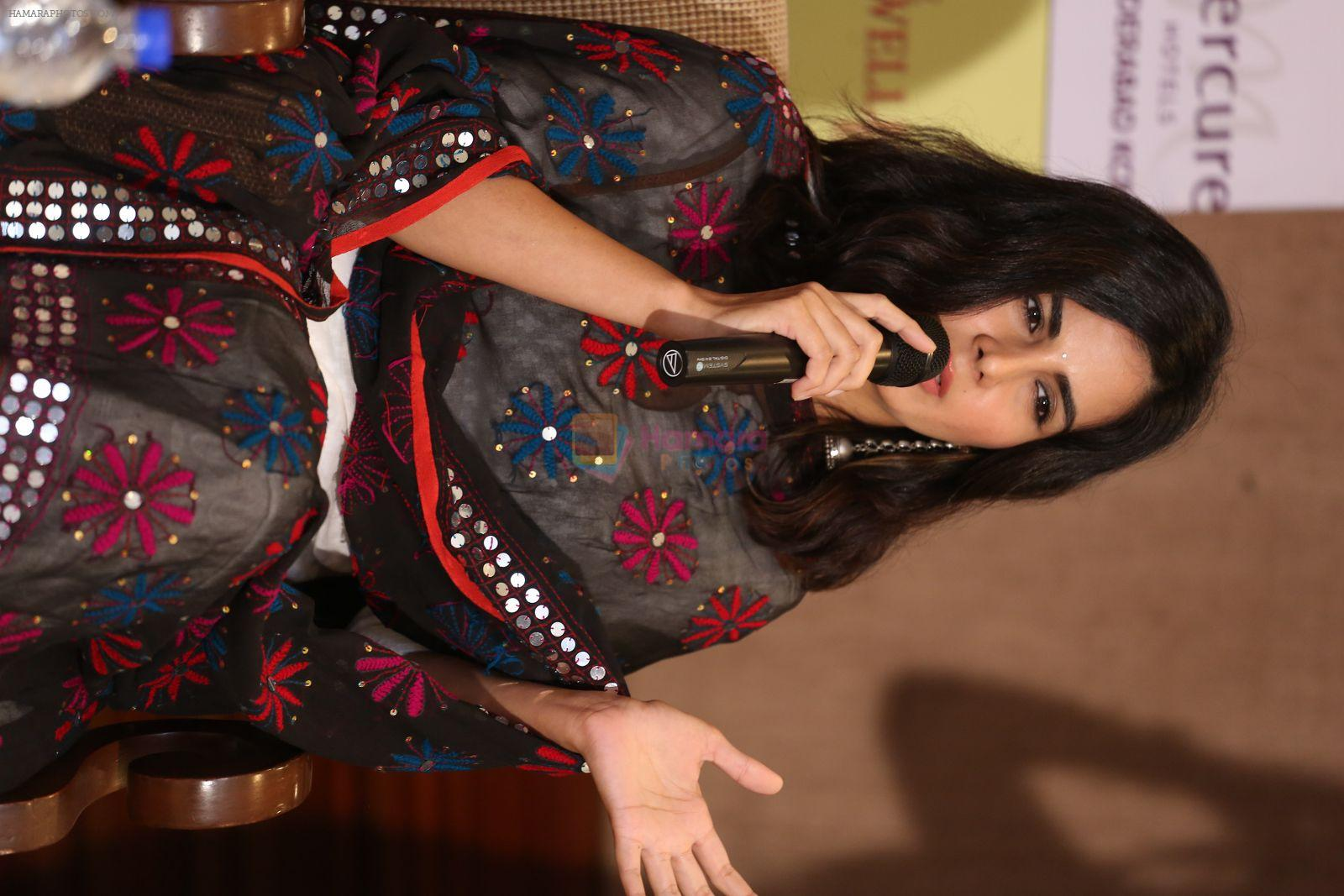 Kirti Kulhari at Pink press meet in Mumbai on 9th Sept 2016