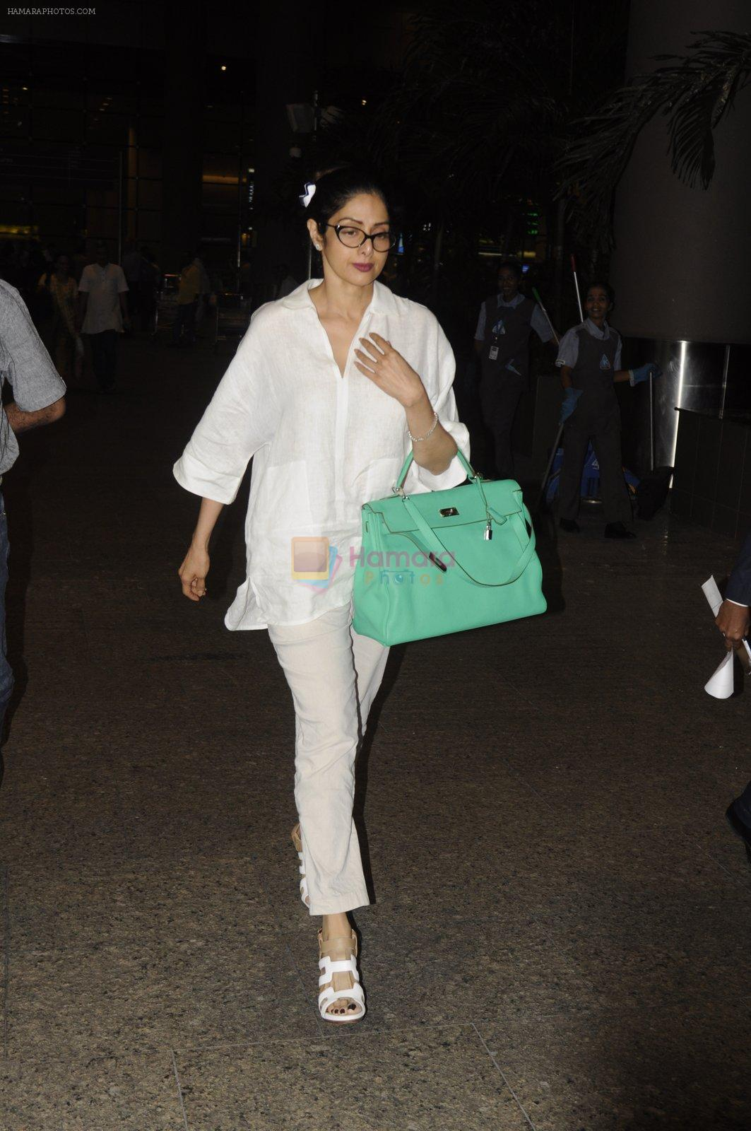 Sridevi snapped on 9th Sept 2016