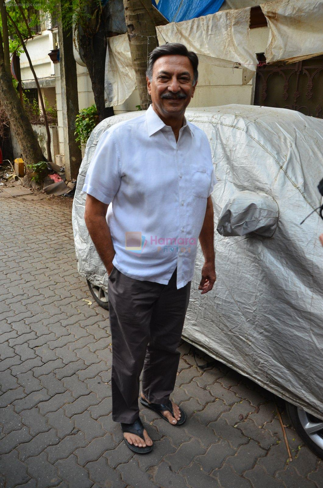 Suresh Oberoi at Vivek Oberoi Ganpati Visarjan on 9th Sept 2016