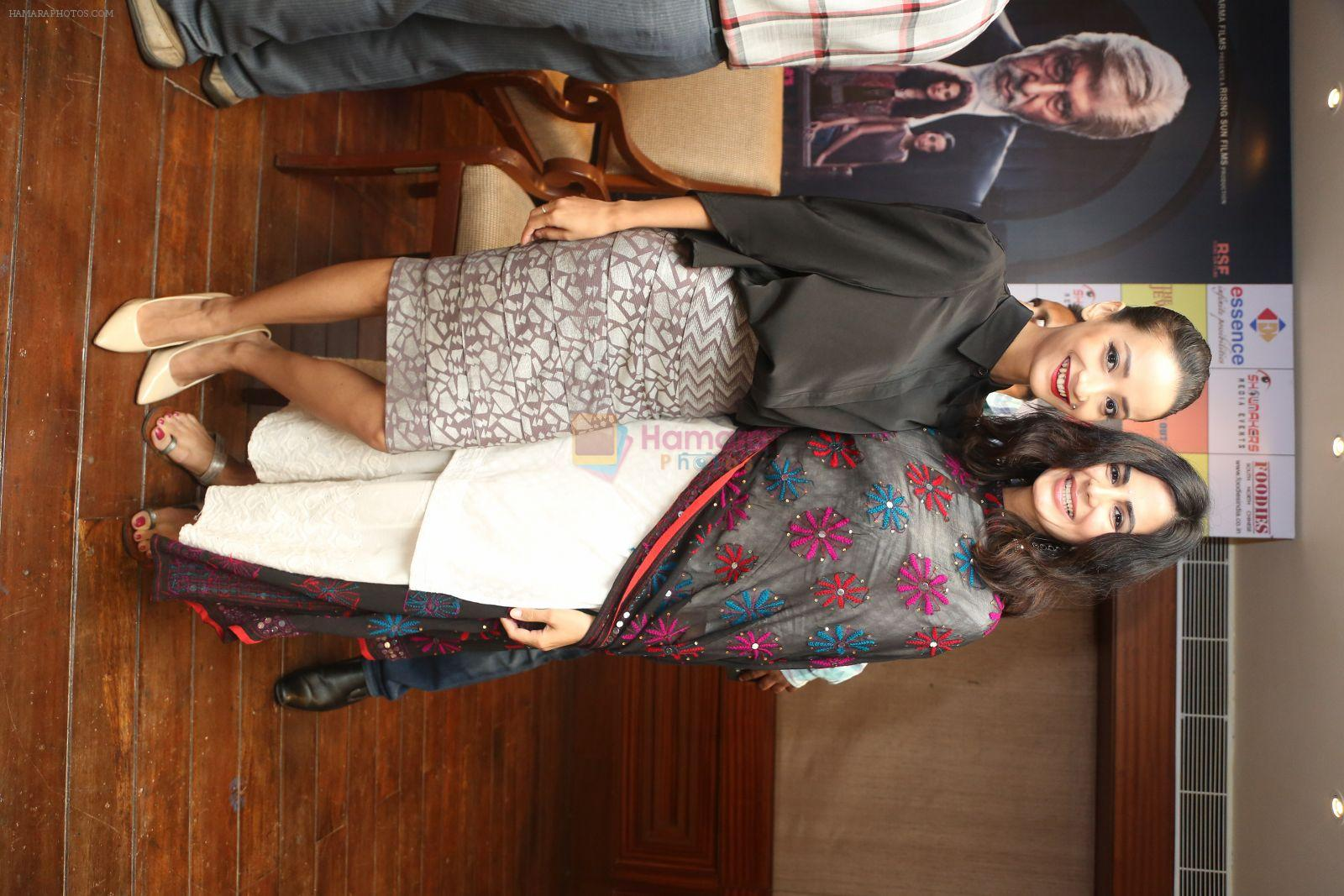 Kirti Kulhari, Andrea Tariang at Pink press meet in Mumbai on 9th Sept 2016