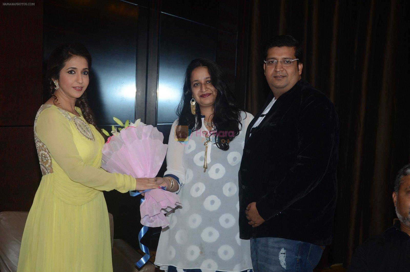 Krishika Lulla at Banjo press meet in Pune on 9th Sept 2016