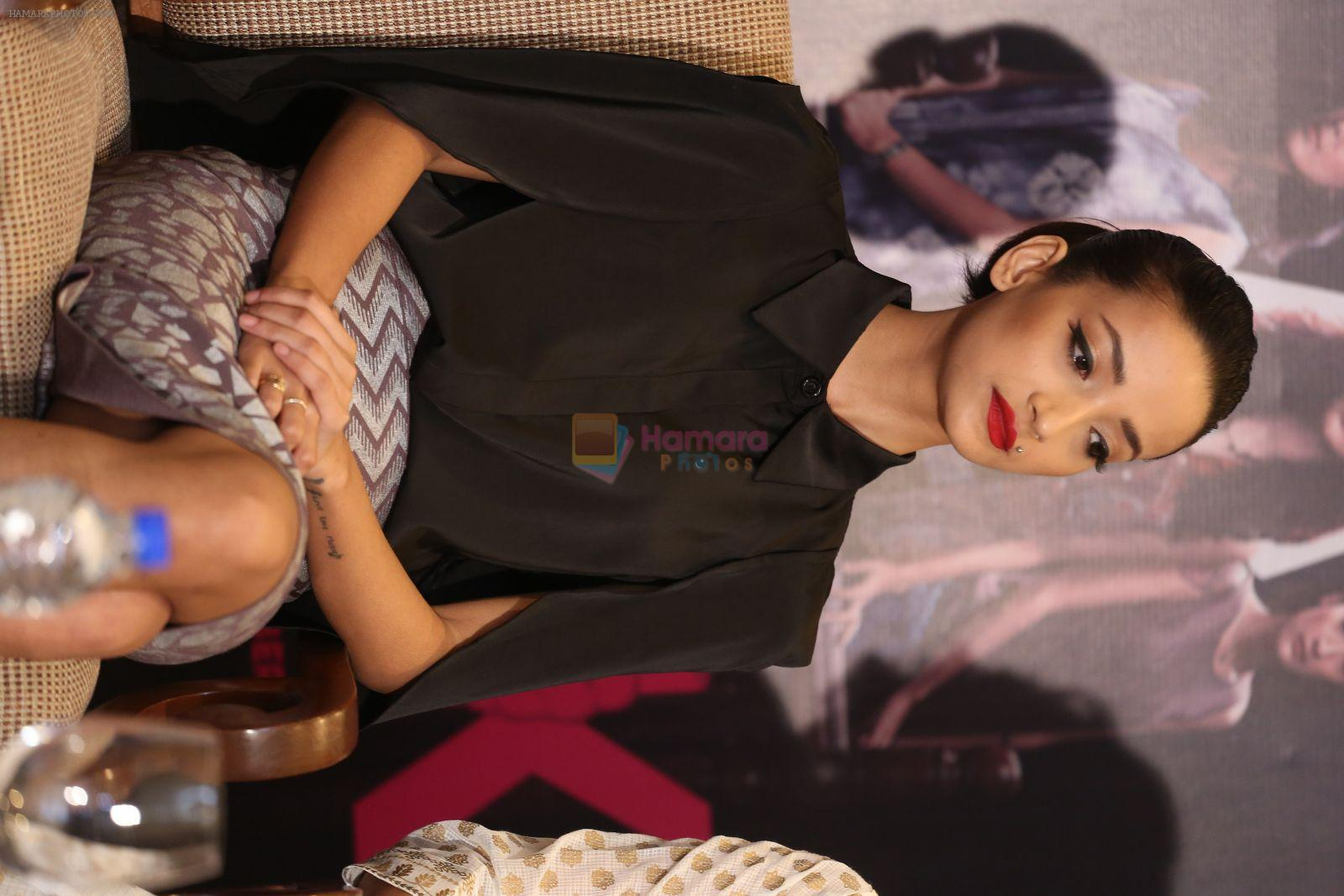 Andrea Tariang at Pink press meet in Mumbai on 9th Sept 2016