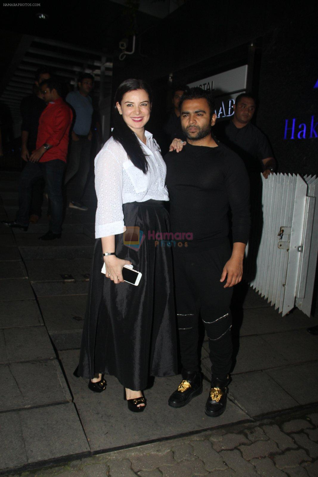 Urvashi Sharma, Sachiin Joshi snapped at Hakassan on 10th Sept 2016