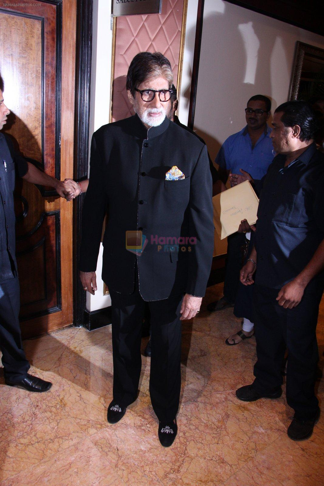 Amitabh Bachchan at the launch of Global Citizen India on 11th Sept 2016