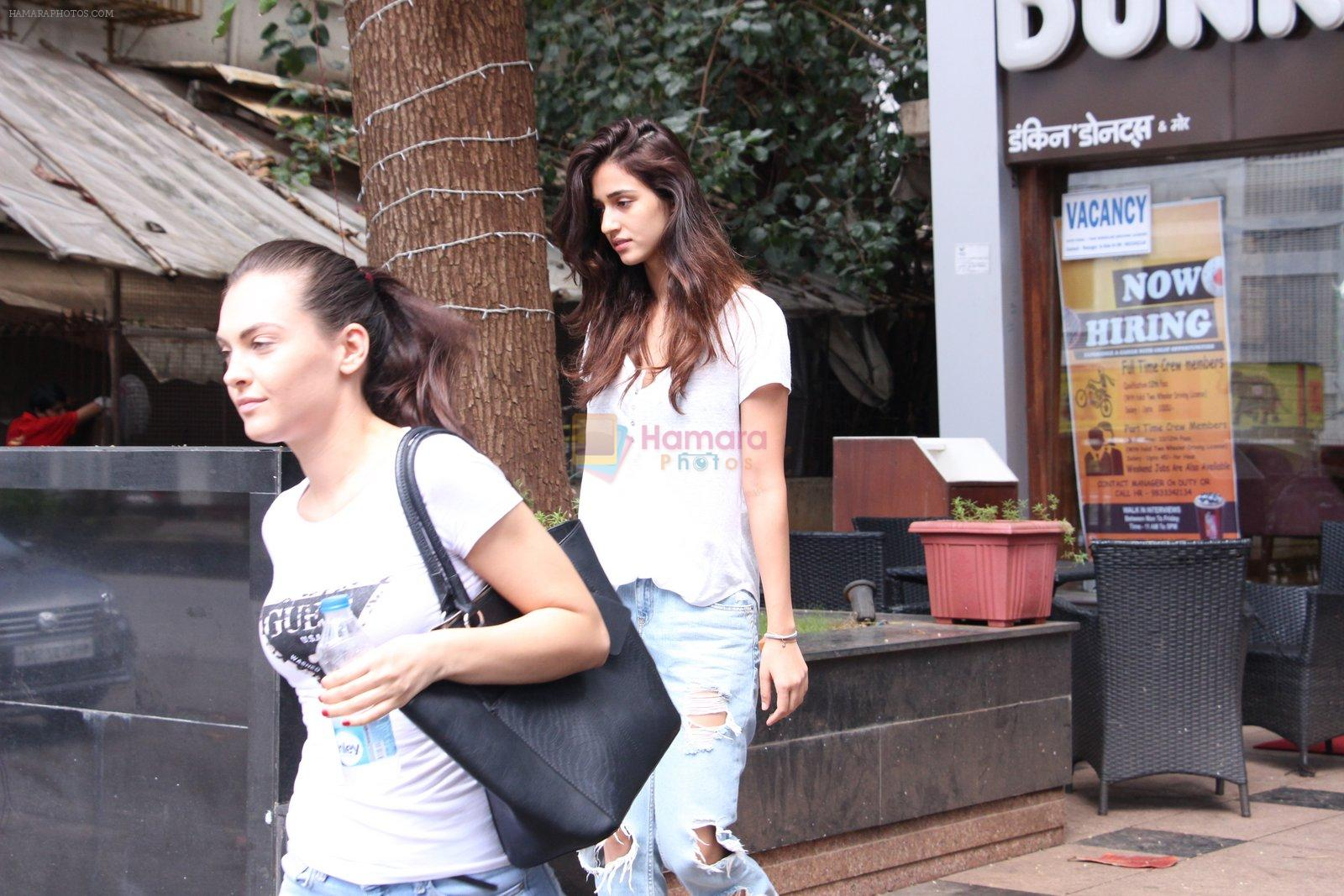 Disha Patani snapped in Bandra on 12th Sept 2016