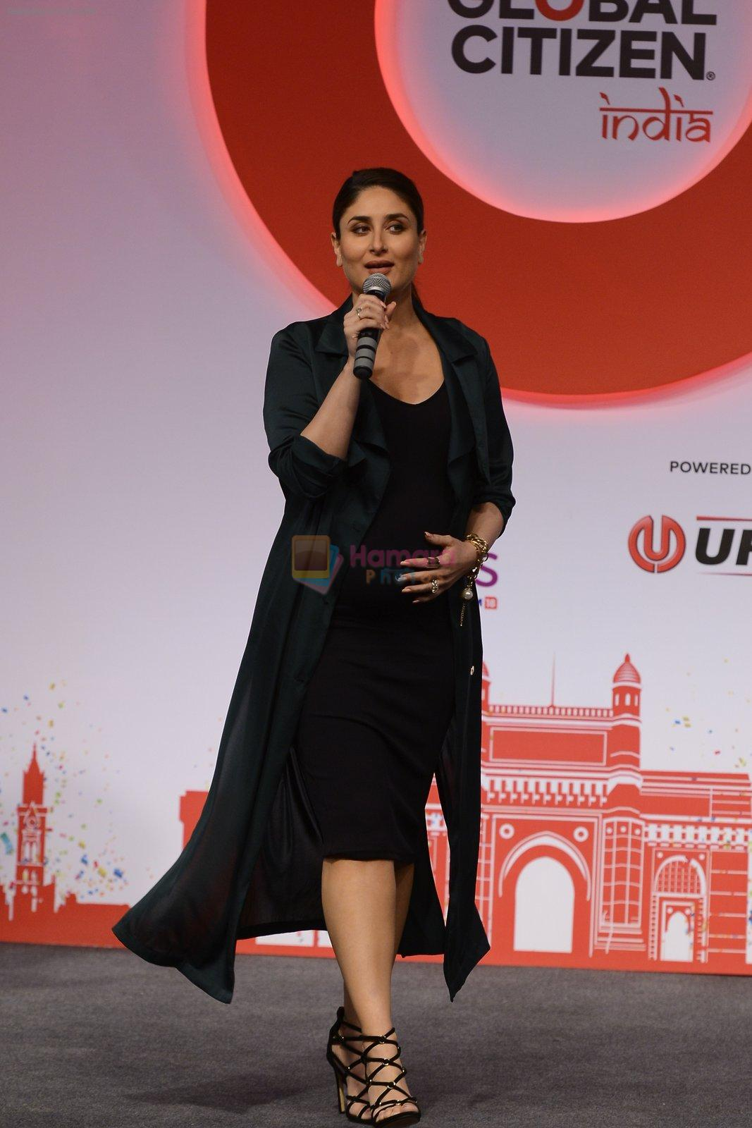 Kareena Kapoor Khan at the launch of Global Citizen India on 11th Sept 2016