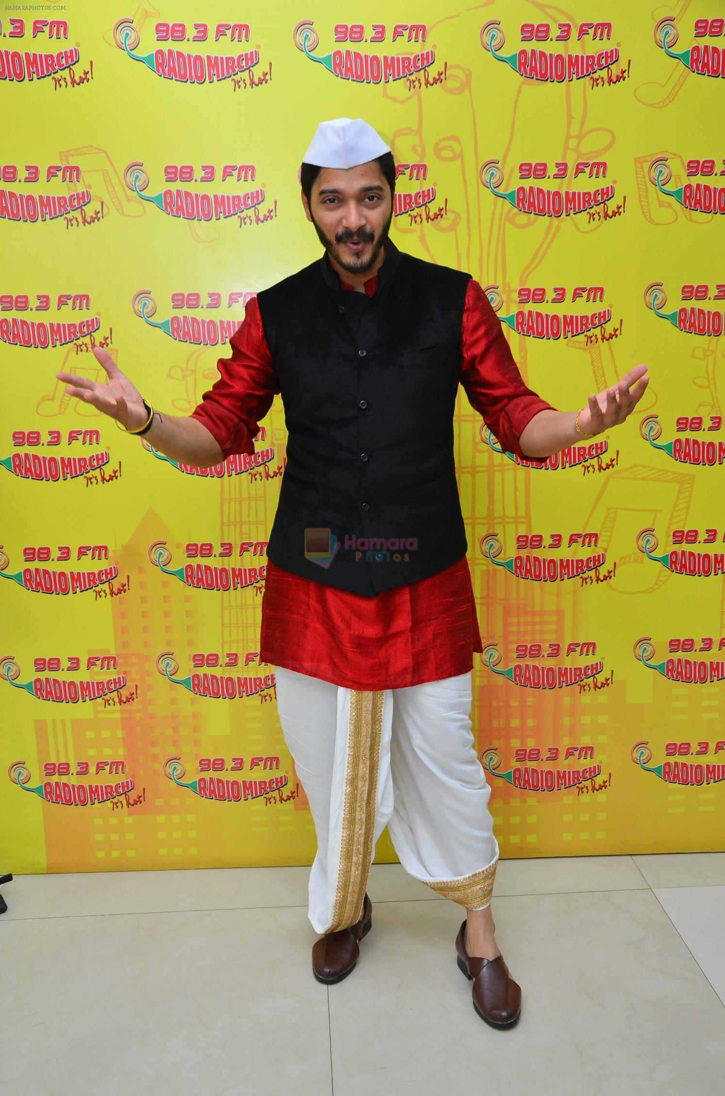 Shreyas Talpade at Radio Mirchi Studio for Wah Taj promotion on 11th Sept 2016